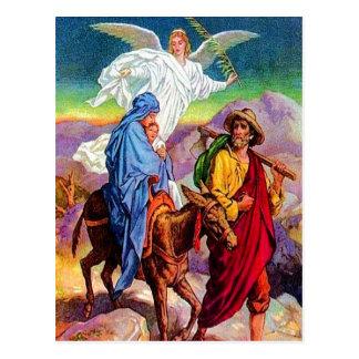 Matthew 2:13-18 Fleeing to Egypt postcard