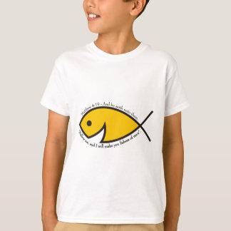 Matthew 4:19 Fishers Of Men Youth T-Shirt