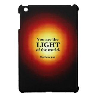 Matthew 5:14 iPad mini case