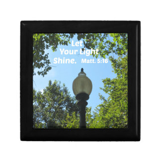 Matthew 5:16 Let your light shine Gift Box