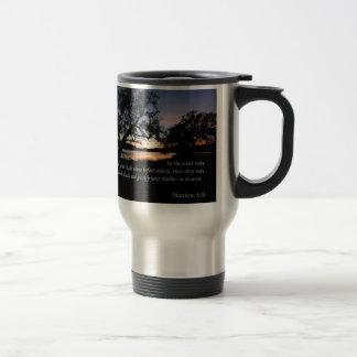 Matthew 5:16 Let Your Light Shine... Travel Mug