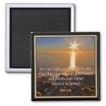 Matthew 5:16 scripture magnet