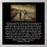 Matthew 5:38-45 poster