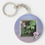 Matthew 5:3 ~ The Beatitudes Keychain