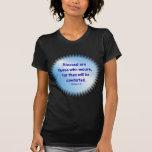 Matthew-5-4 - BLESSED ES ESA WHO ESTÁ DE LUTO… Camiseta