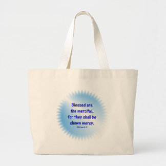 Matthew-5-7 - BLESSED ARE THE MERCIFUL.... Canvas Bags