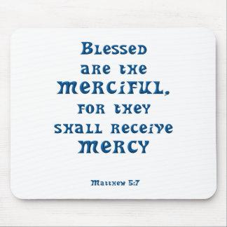 Matthew 5: 7 mouse pad