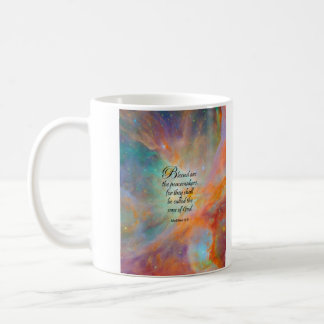 Matthew 5:9 coffee mug