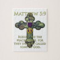 Matthew 5:9 jigsaw puzzle