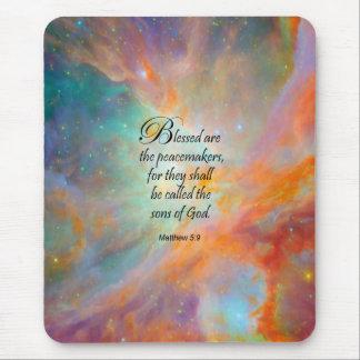 Matthew 5:9 mousepads