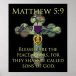 Matthew 5:9 posters
