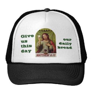 Matthew 6:11 hat