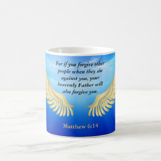 Matthew 6:14 coffee mug