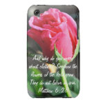 Matthew 6:28 iPhone 3 covers