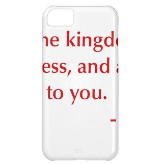 Matthew-6-33-opt-burg.png iPhone 5C Cover