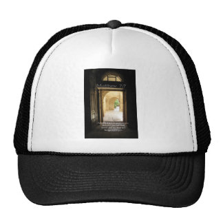 Matthew 7:7 Inspirational Bible Verse Mesh Hat