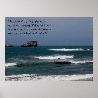 Matthew 8:27 print