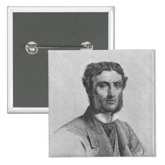 Matthew Arnold, 1881 Button