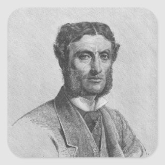 Matthew Arnold, 1881 Square Sticker