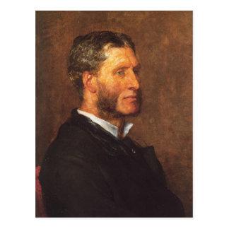 Matthew Arnold oil painting Postcard