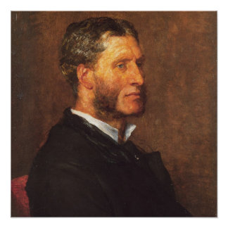 Matthew Arnold oil painting Poster