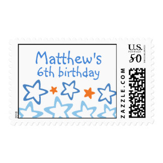 Matthew - Birthday Custom Postage