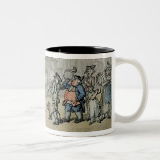 Matthew Bramble's Trip to Bath: Arrival at Bath (w Two-Tone Coffee Mug