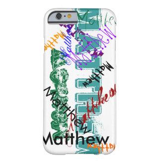 Matthew Case iPhone 6 Name Case