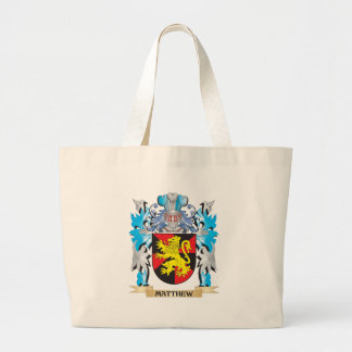 Matthew Coat of Arms - Family Crest Canvas Bags