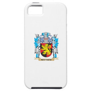 Matthew Coat of Arms - Family Crest iPhone 5 Covers