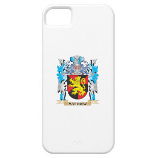 Matthew Coat of Arms - Family Crest iPhone 5 Case