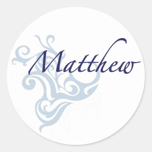 Matthew Etiqueta Redonda