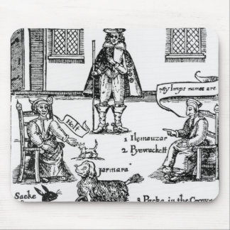 Matthew Hopkins, the Witchfinder General Mouse Pad