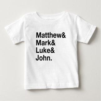 Matthew & Mark & Luke & John Baby T-Shirt