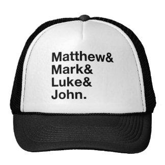 Matthew & Mark & Luke & John Mesh Hats