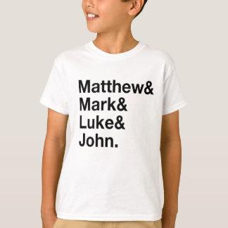 Matthew & Mark & Luke & John T-Shirt