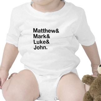 Matthew & Mark & Luke & John Baby Bodysuit