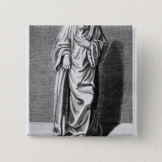 Matthew Paris, 1795 Pinback Button