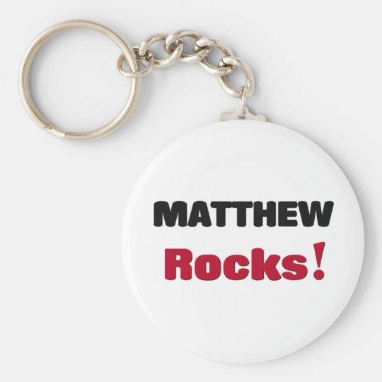 Matthew Rocks Keychain