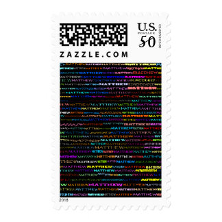 Matthew Text Design I Vertical Postage