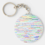 Matthew Text Design II Keychain