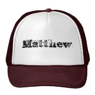 Matthew Trucker Hat