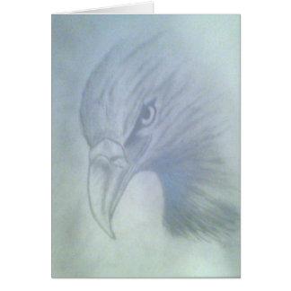 Matthew's Eagle Greeting Card