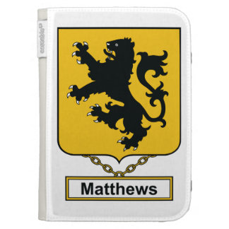 Matthews Family Crest Kindle 3 Covers