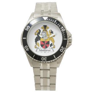 Matthews Family Crest Watch