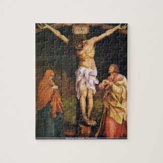 Matthias Grnewald - Crucifixion Jigsaw Puzzle