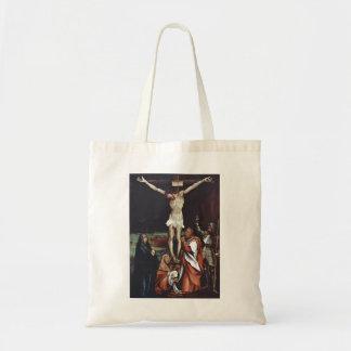 Matthias Grünewald- Calvary Canvas Bags