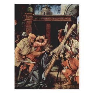 Matthias Grünewald- Christ Carrying the Cross Postcard