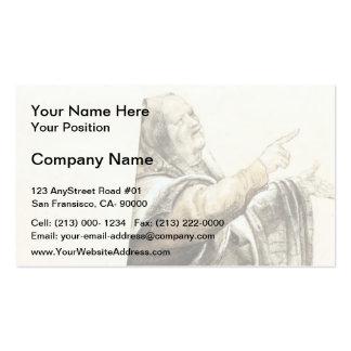 Matthias Grünewald: Complaining Pharisee Business Card