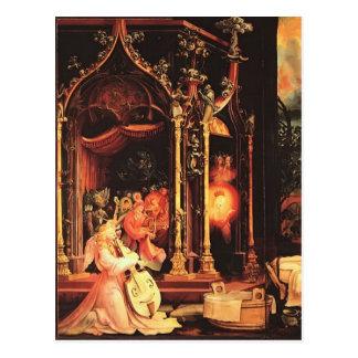 Matthias Grünewald- Concert of Angels Postcard